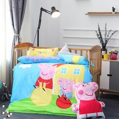 幼儿园大版花  单品垫套/垫芯 丝绵床垫芯60*120cm 小猪佩琪