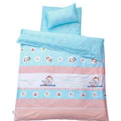 悦童家纺133x72儿童幼儿园三件套(单品) 珍珠棉枕芯30X50 cm 贪吃小猴