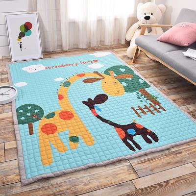 悦童家纺地垫、瑜伽垫 145*195cm 亲子鹿