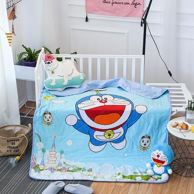 悦童家纺儿童可脱卸内胆夹棉两用水洗棉花被(120X150CM) 夹棉被套/件 叮当猫