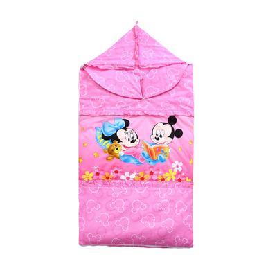 悦童家纺迪斯尼款睡袋(棉花厚薄双胆款) 米奇宝贝(75X120)