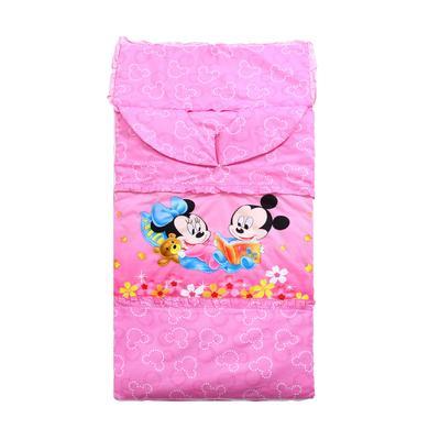 悦童家纺迪斯尼款睡袋(棉花厚薄双胆款) 米奇宝贝(78X150)