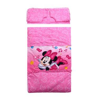 悦童家纺迪斯尼款睡袋(棉花厚薄双胆款) 天使米妮(75X120)