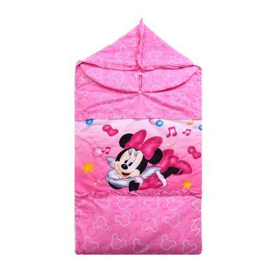 悦童家纺迪斯尼款睡袋(棉花厚薄双胆款) 天使米妮(78X150)