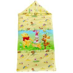 悦童家纺迪斯尼款睡袋(单外套) 朋友维尼(75X120)