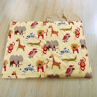 悦童家纺大森林睡袋(棉花厚薄双胆款) 大森林(100X180)