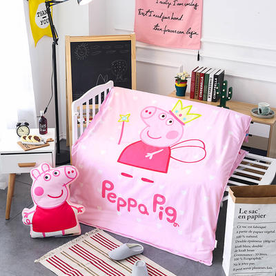 悦童大版儿童幼儿园三件套(单品) 枕套30X50cm 公主佩奇