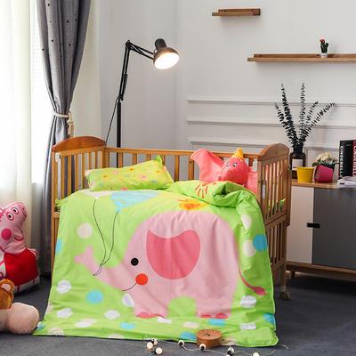 悦童大版儿童幼儿园三件套(单品) 枕套30X50cm 可爱小象