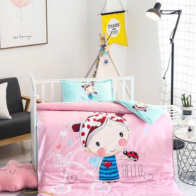悦童大版儿童幼儿园三件套(单品) 枕套30X50cm 糖果女孩