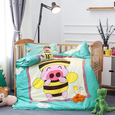 悦童大版儿童幼儿园三件套(单品) 枕套30X50cm 小麦兜