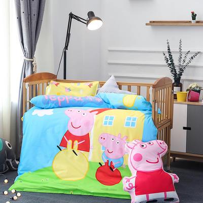 悦童大版儿童幼儿园三件套(单品) 枕套30X50cm 小猪佩奇
