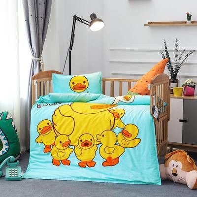 悦童大版儿童幼儿园三件套(单品) 枕套30X50cm 鸭子家族
