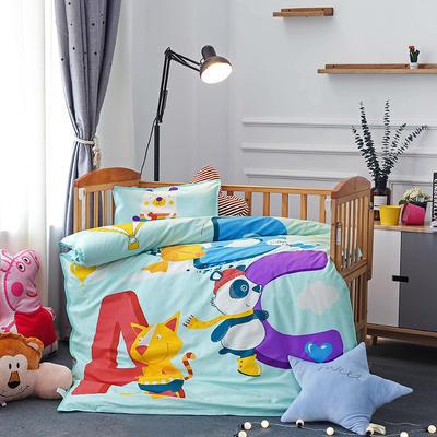 悦童大版儿童幼儿园三件套(单品) 枕套30X50cm 字母ABC