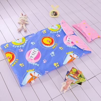 大森林睡袋(丝棉款) 动物派对(78X150)