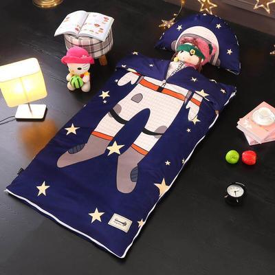 北欧暖绒睡袋款(棉花双胆款) 宇航员折叠尺寸80*135