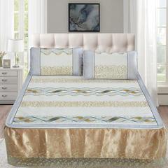 可脱卸床裙系列三件套 1.5m(5英尺)床 水样年华