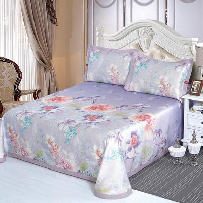 牛氏席铺 可水洗床单系列三件套 2.0m(6.6英尺)床 镜面炫彩
