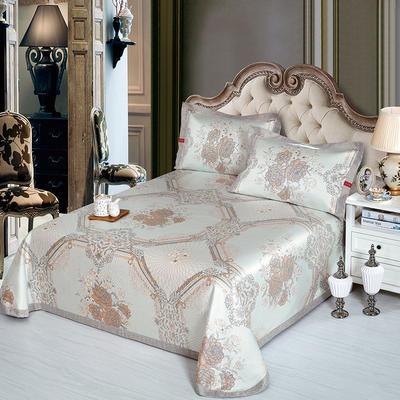 牛氏席铺 可水洗床单系列三件套 2.0m(6.6英尺)床 宫廷盛宴