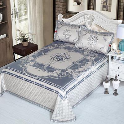 牛氏席铺 可水洗床单系列三件套 2.0m(6.6英尺)床 静怡