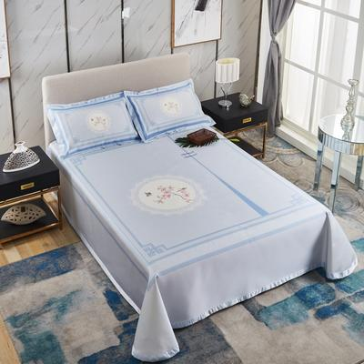 牛氏席铺 可水洗床单系列三件套 2.0m(6.6英尺)床 镜花水月