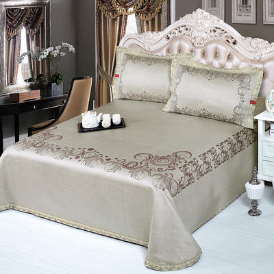 牛氏席铺 可水洗床单系列三件套 2.0m(6.6英尺)床 丽娜