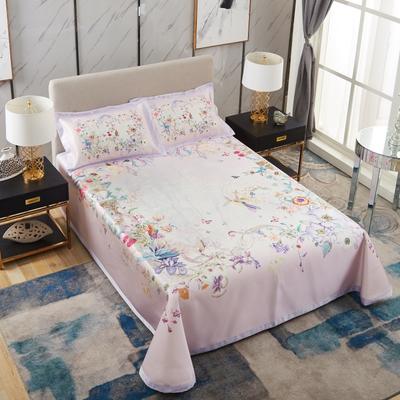 牛氏席铺 可水洗床单系列三件套 2.0m(6.6英尺)床 万紫千红