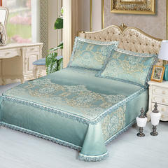 牛氏席铺 高端水洗机洗床笠床单冰丝席 冰丝凉席 三件套 1.5m(5英尺)床 安东尼