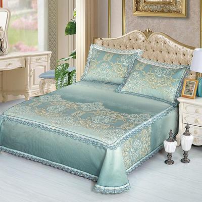 牛氏席铺 高端水洗机洗床笠床单冰丝席 冰丝凉席 三件套 1.5m(5英尺)床 安东尼床单