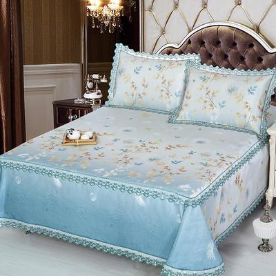 牛氏席铺 高端水洗机洗床笠床单冰丝席 冰丝凉席 三件套 1.5m(5英尺)床 灵动床单