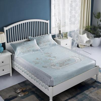2020牛氏席铺 高端定位花刺绣床包席 1.5m(5英尺)床 卡特琳床包