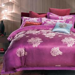 企梦家纺 提花四件套 标准1.5-1.8米床 繁花似锦