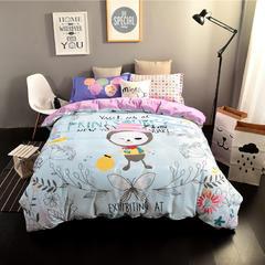 企梦家纺 大版A棉B绒系列 标准1.5-1.8米床 盼望