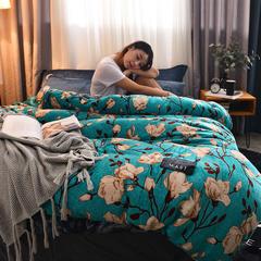企梦家纺 法莱绒秘密花园商标工艺系列 1.5m(5英尺)床 诺一