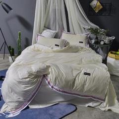 企梦家纺 水晶绒运动风系列 1.5m(5英尺)床 时尚米兰-米