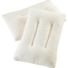 2018新款水立方碎乳胶枕 35*55cm 白色/只