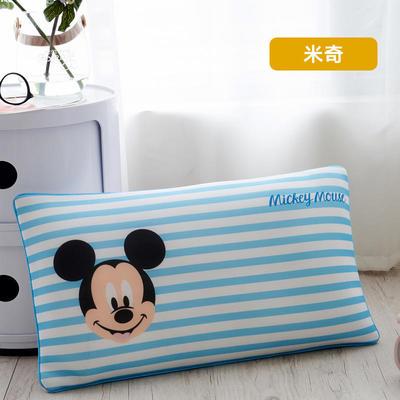 2019新款迪士尼乳胶数码印花羽丝填充儿童学生护颈枕正品一件代发(清仓) 30*50 米奇
