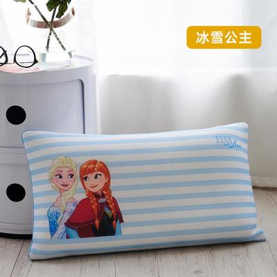 2019新款迪士尼乳胶数码印花羽丝填充儿童学生护颈枕正品一件代发(清仓) 30*50 冰雪公主