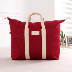 抗日家纺(木棉被    蚕丝被)包装 大红色