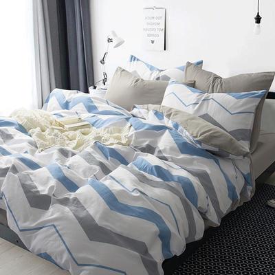 多彩家纺北欧简约系列 标准(1.5m-1.8m)床 影初