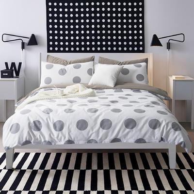 多彩家纺北欧简约系列 标准(1.5m-1.8m)床 当当
