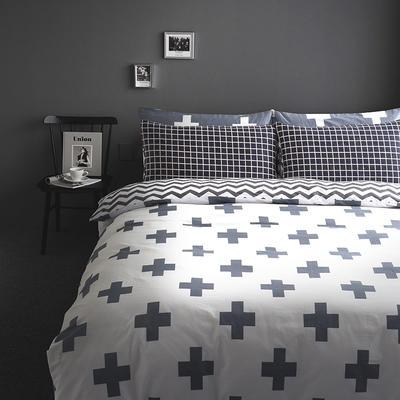 多彩家纺北欧简约系列 标准(1.5m-1.8m)床 卡欧