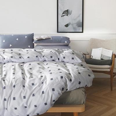 多彩家纺北欧简约系列 标准(1.5m-1.8m)床 单身男女