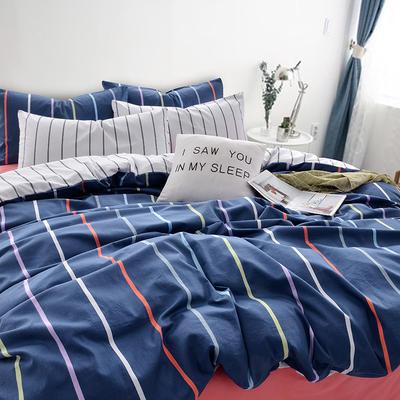多彩家纺新款喷气北欧1系列 标准(1.5m-1.8m) 多彩