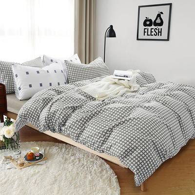 多彩家纺北欧简约系列 标准(1.5m-1.8m)床 绅士