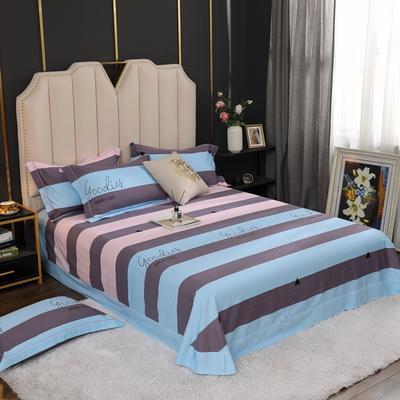 2020新款全棉生态磨毛单品床单 245cmx250cm 彩韵