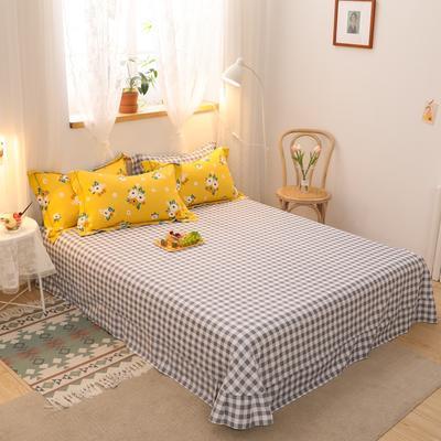 2020新款全棉生态磨毛单品床单 245cmx250cm 洛伊塔