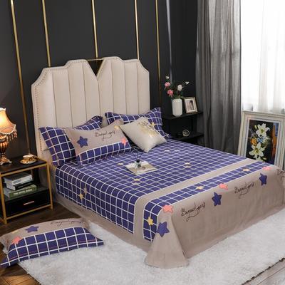 2020新款全棉生态磨毛单品床单 245cmx270cm 米兰