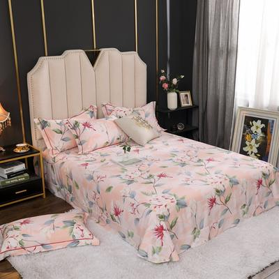 2020新款全棉生态磨毛单品床单 245cmx250cm 陌上花开
