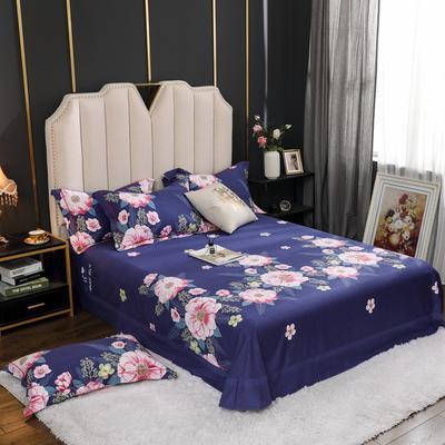 2020新款全棉生态磨毛单品床单 245cmx250cm 万紫千红