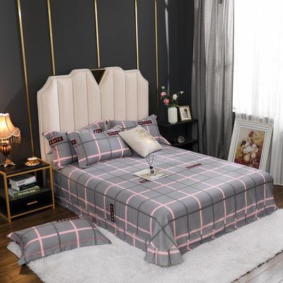2020新款全棉生态磨毛单品床单 245cmx250cm 英伦风情